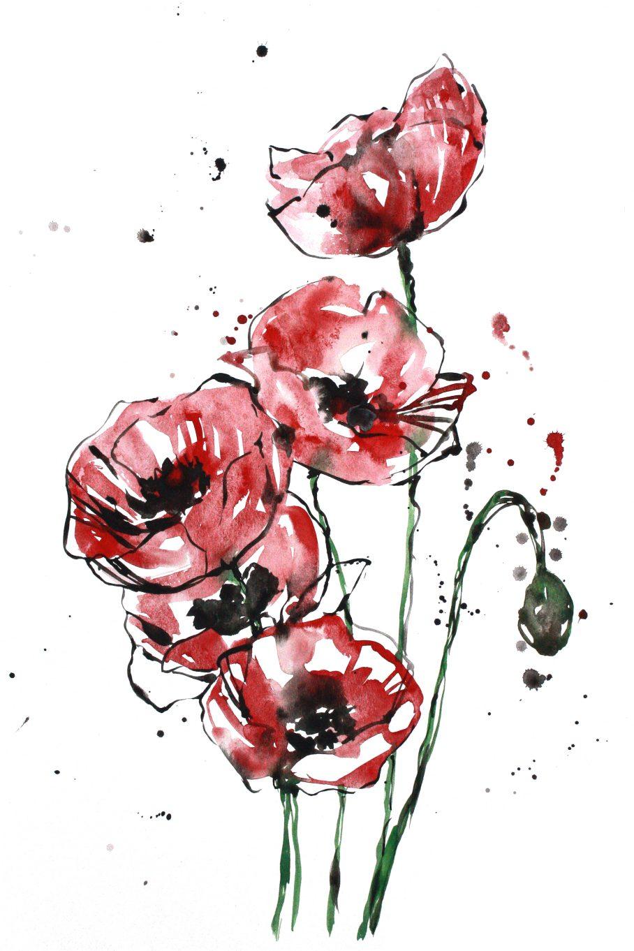 poppies_12x18
