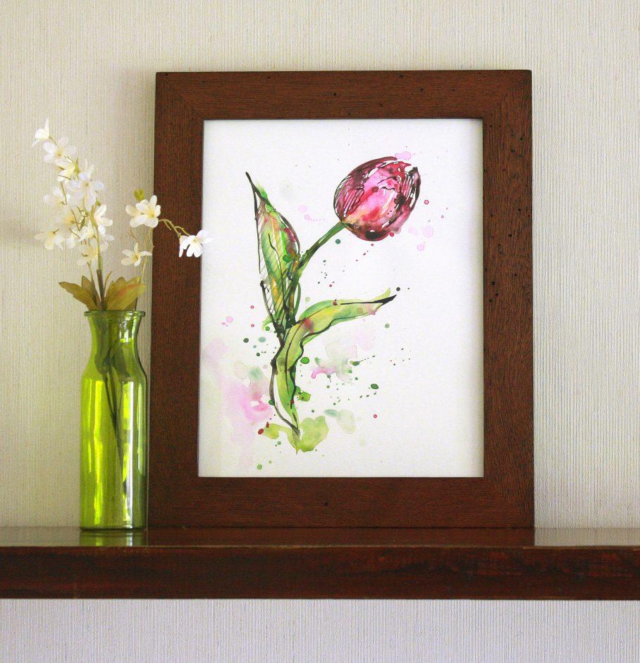 tulip_framed